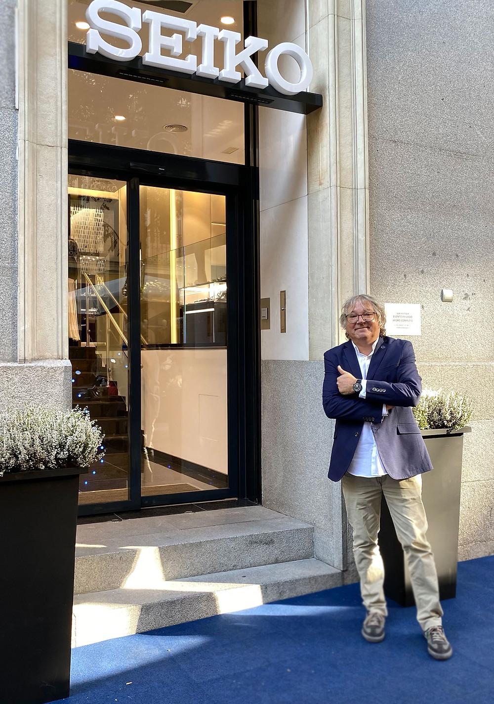 Foto entrada nueva Seiko Boutique Ayala 15 Madrid
