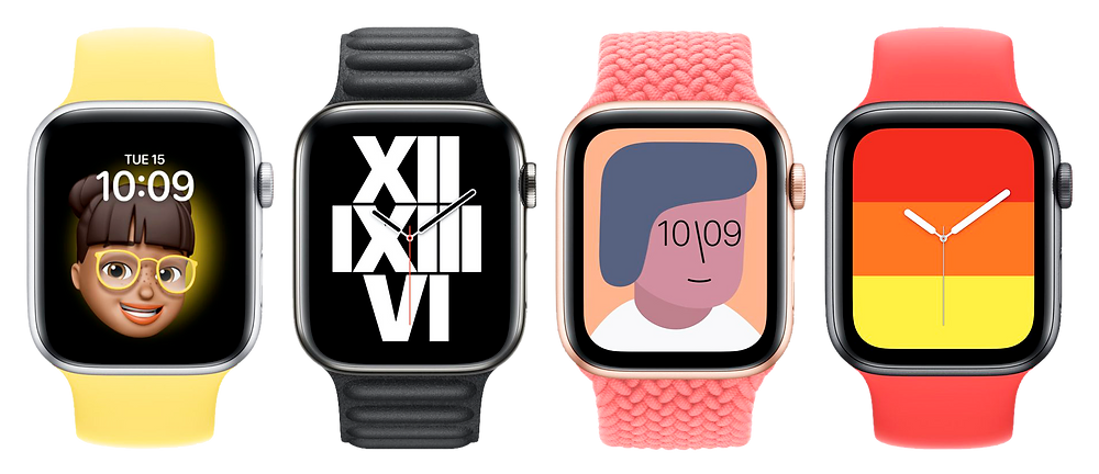 Nuevas apple watch faces series 6 2020 muy feas