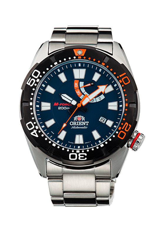 reloj Diver's Orient M-Force EL0A002D automático