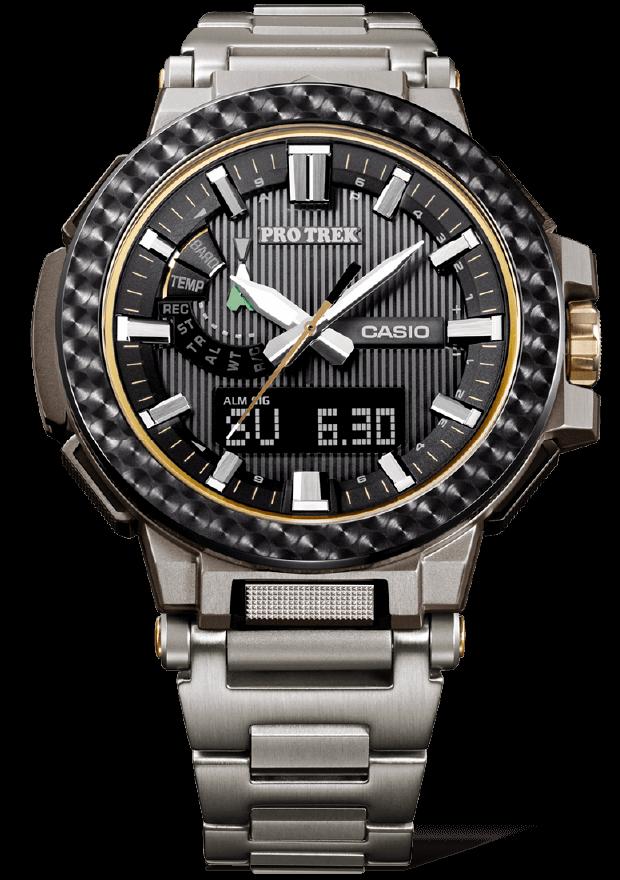 reloj edicion limitada Casio Pro-Trek Manaslu 25 años marca ref PRX-8025HT-1