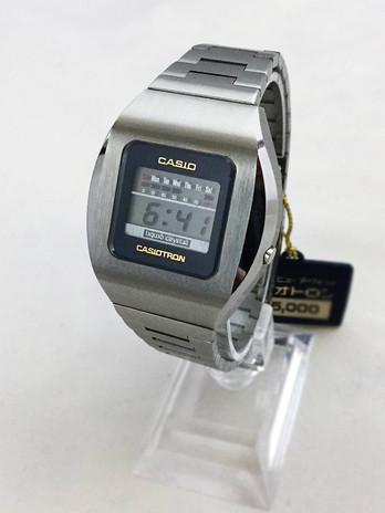 "Reloj Casio ""Casiotron"" de 1974"
