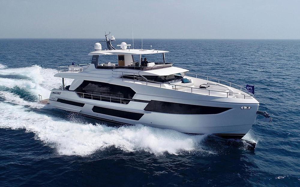 yate de lujo 23m Horizon yacht FD75 nuevo en venta