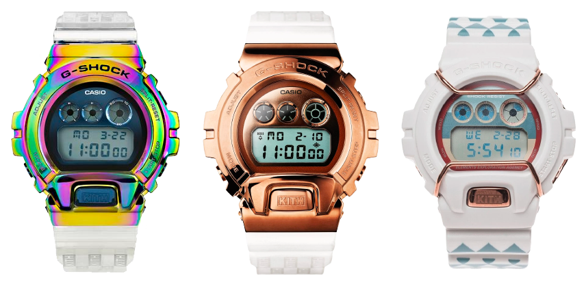 nuevo reloj edicion limitada kith x g-shock GM-6900KTH-4 marzo 2021