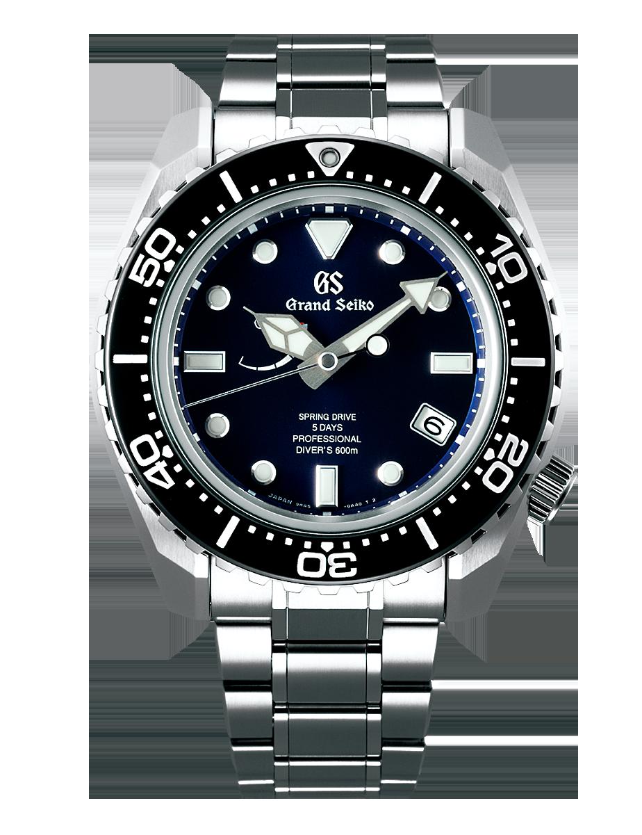 Reloj Grand Seiko SLGA001 con Calibre Spring Drive 9RA5 de 5 dias de reserva de marcha