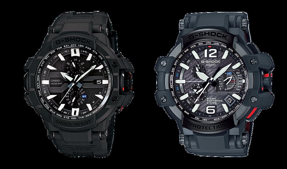 Relojes GW-A1000RAF-1A  y GPW-1000RAF-1A ediciones limitadas ejército británico