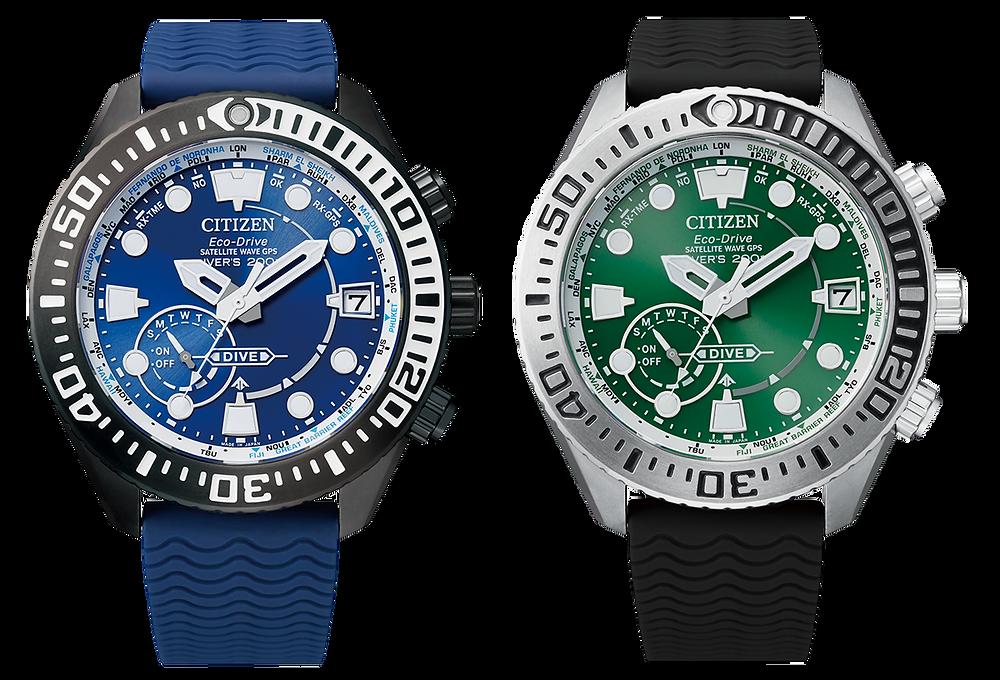 Relojes Citizen promaster cc5006-06l y cc5001-00w con GPS
