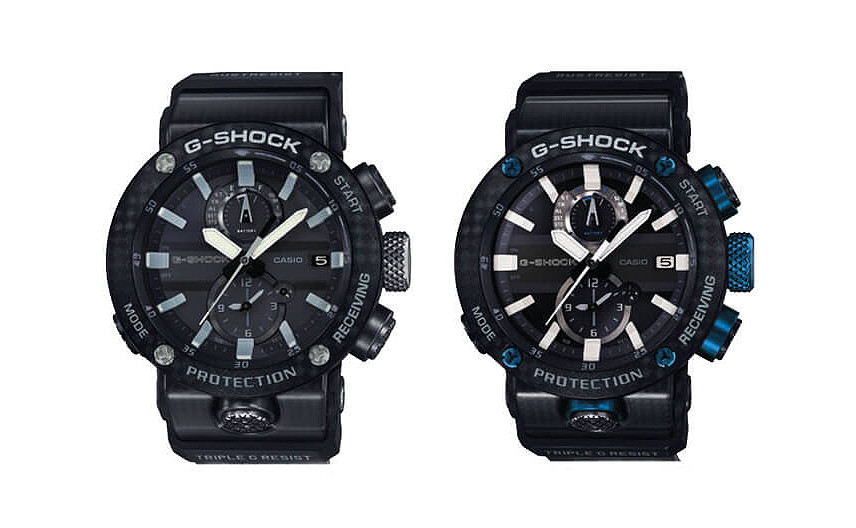 GWR-B1000-1A  G-Shock nuevo reloj Gravitymaster 2019 Carbon monocoque