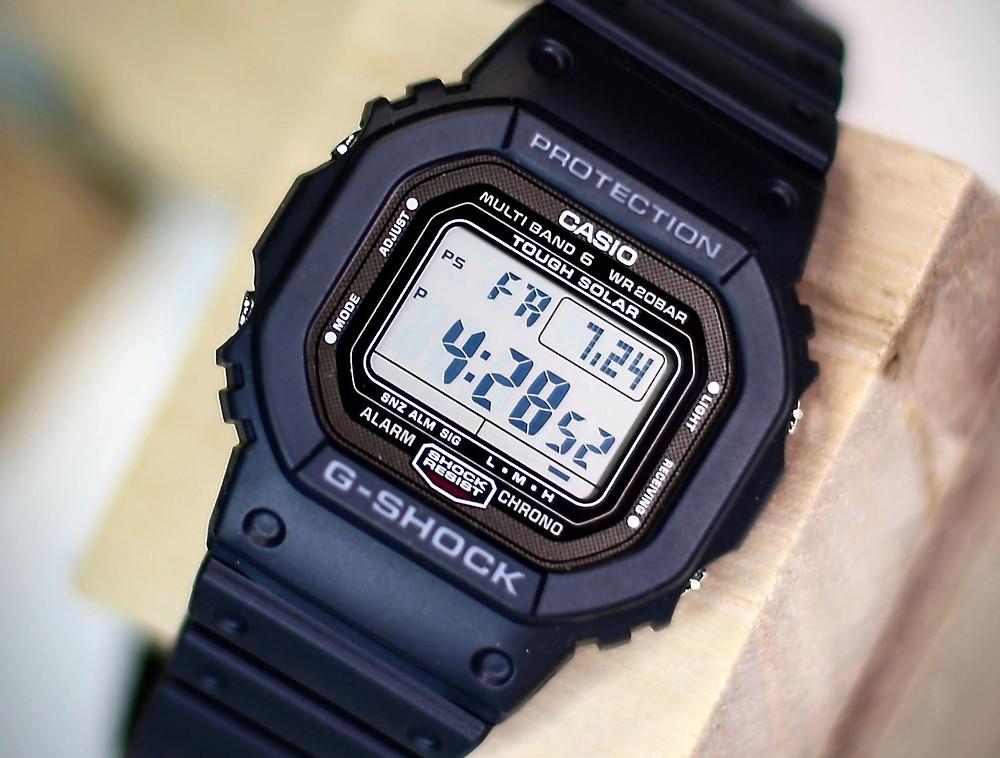 """reloj el principe gw50001jf de casio g-shock """"made in japan"""" acero dlc"""