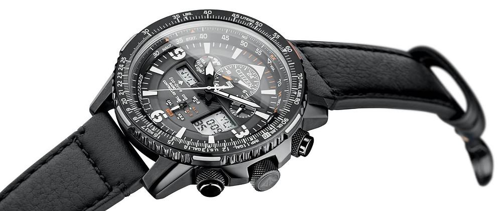 JY8085-14H reloj citizen eco-drive radiocontrolado Pro Pilot