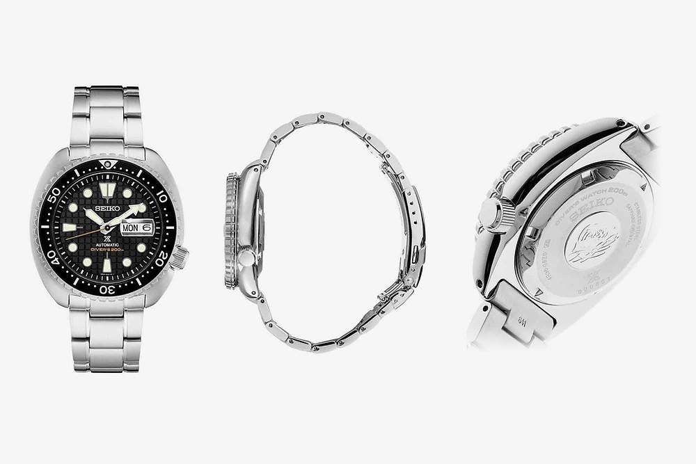 novedad reloj seiko prospex-king tortuga SRPE03K1