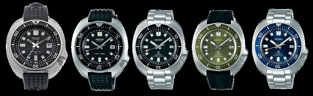 todos los relojes seiko capitan willard apo fabricados 1970-2021