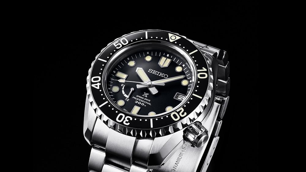 Reloj de submarinismo profesional Seiko prospex automático Spring Drive