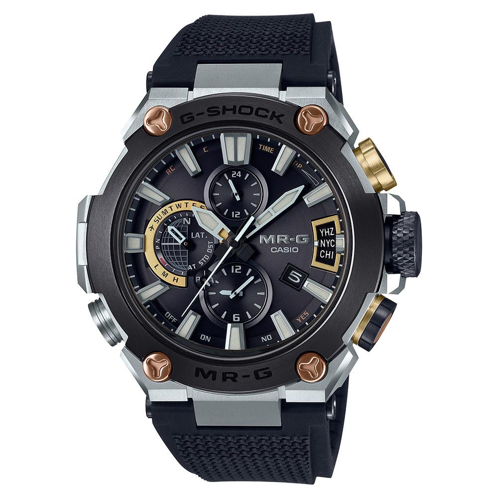 reloj edicion limitada G-SHock MR-G titanio DLC con GPS y Bluetooth