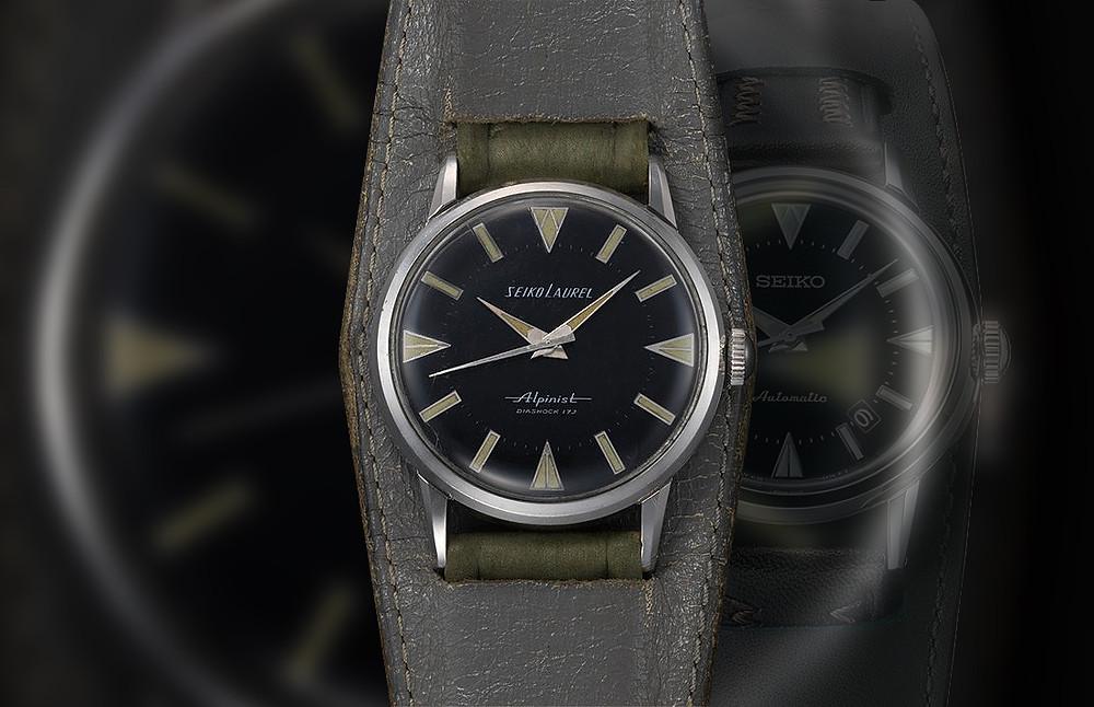reloj Seiko alpinist original de 1959, referencia 14041