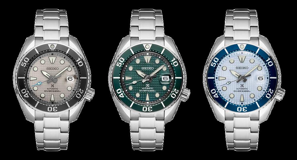 Nuevos relojes Sumo Ice Diver novedad Seiko 2020
