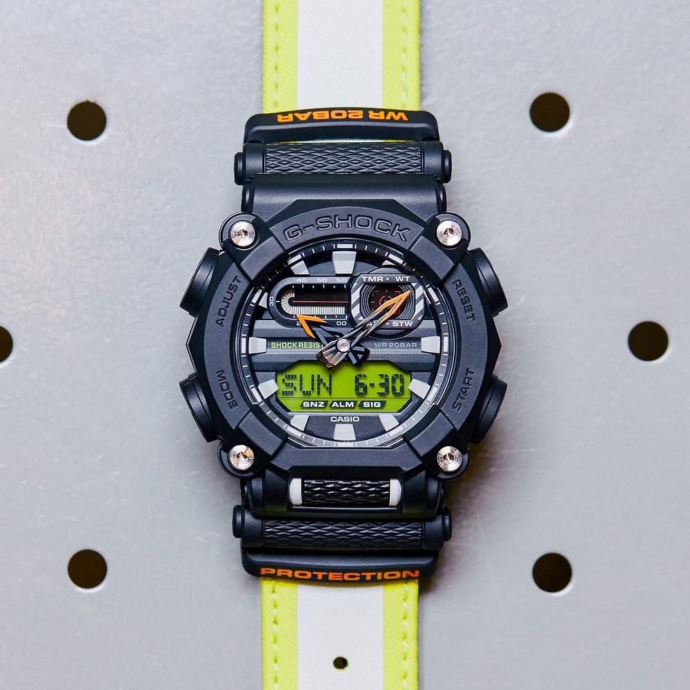 ga-900e-1a3 reloj novedad casio G-Shock 2020