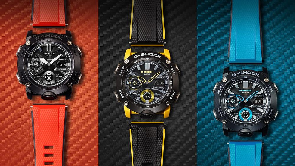 Nuevos relojes analógico digitales Casio G-Shock GA-2000