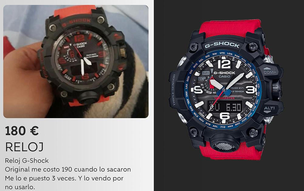 Casio G-Shock fakes y replicas, guia para reconocerlos