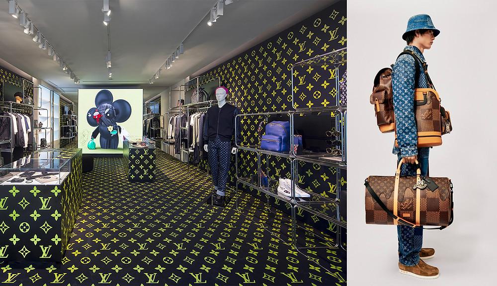 las nuevas generaciones compran seiko y Louis Vuitton