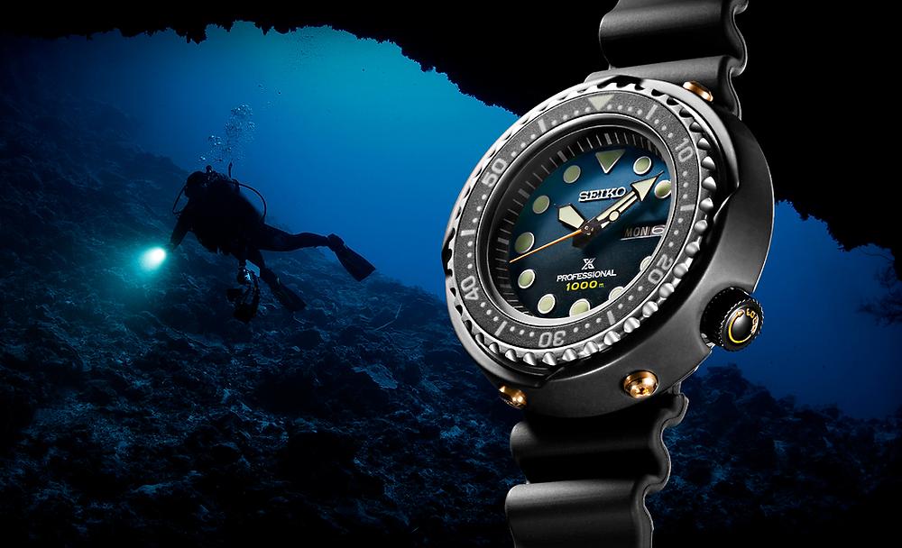 nuevo reloj prospex 1000 m edicion limitada 35th numerada S23635J1