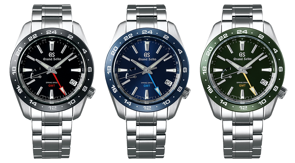 nuevos relojes grand seiko spring drive gmt 2021 SBGE