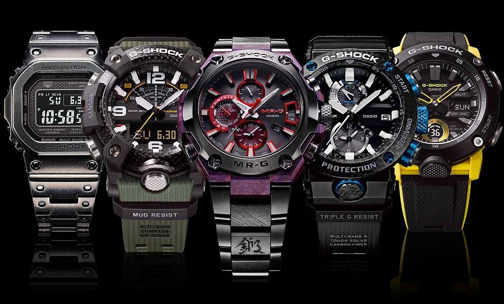 Todas las novedades de relojes G-Shock y MRG desde la feria Baselworld 2019