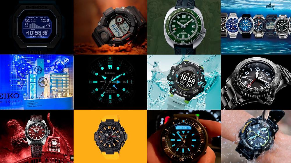 mejores posts de 2020 de relojes Seiko, Citizen y G-Shock con más lecturas