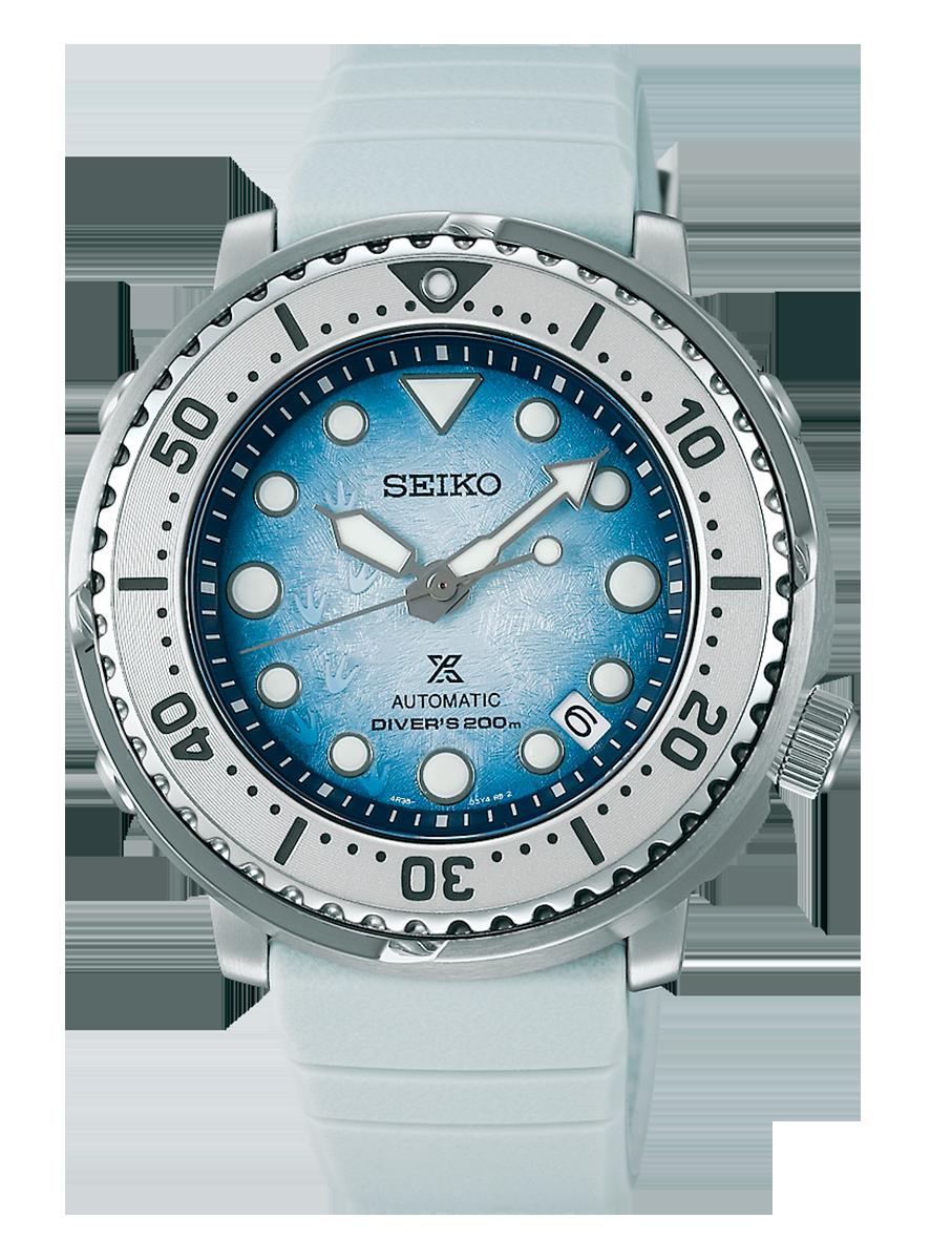 Nuevo Seiko prospex automatico mini Tuna SRPG59K1 edicion especial Save The Ocean Antaric