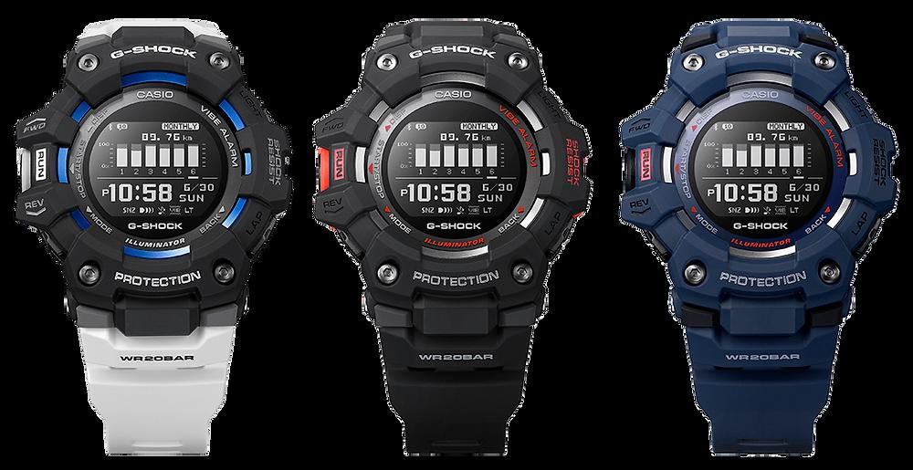 GBD-100-1AER reloj para deportistas y atletas muy ligero conectado