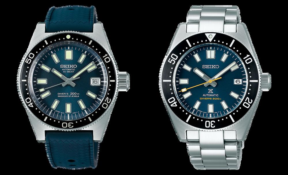 Modelos edicion limitada 55th Seiko SLA037 y SPB149