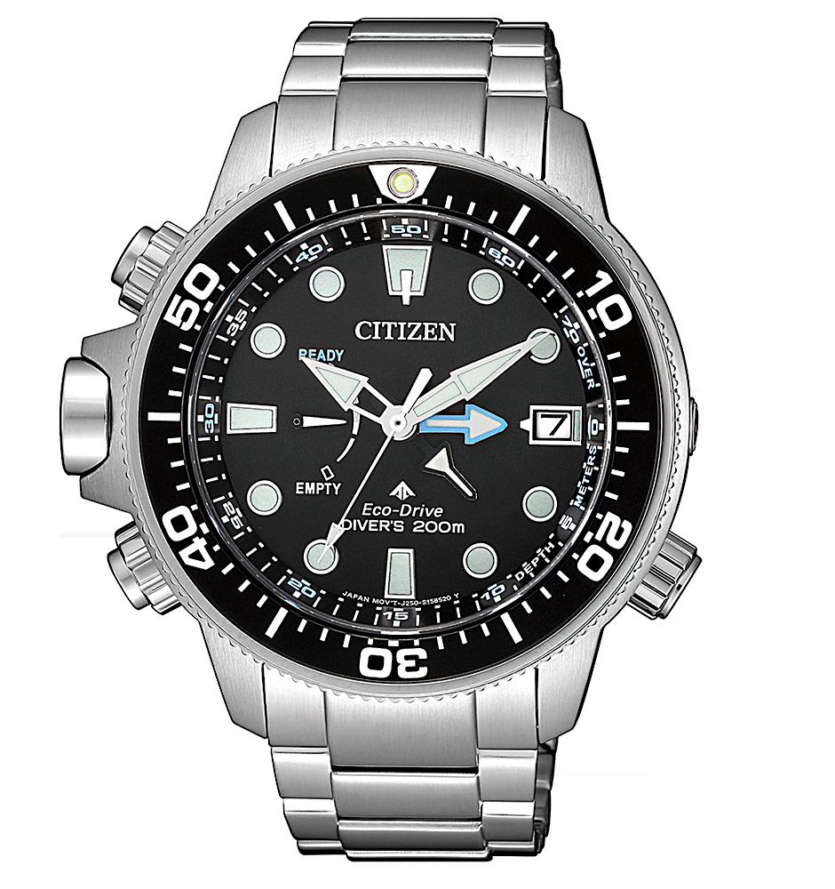 Reloj Citizen promaster BN2031-85E armis de acero solar profundimetro