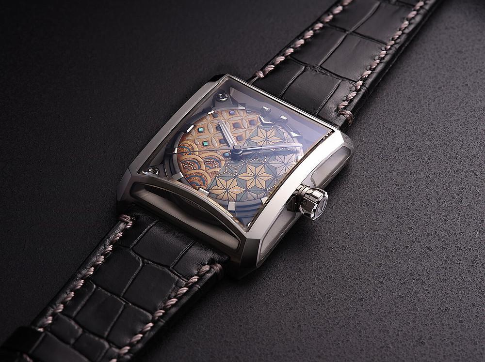 reloj Minase masterpiece Hakose Makie Komon VM15-CMA1-SSD