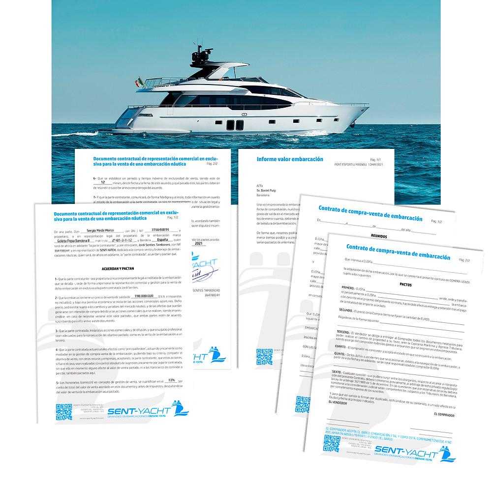 En náutica Sent-Yacht compramos y vendemos barcos y estamos especializados en grandes esloras