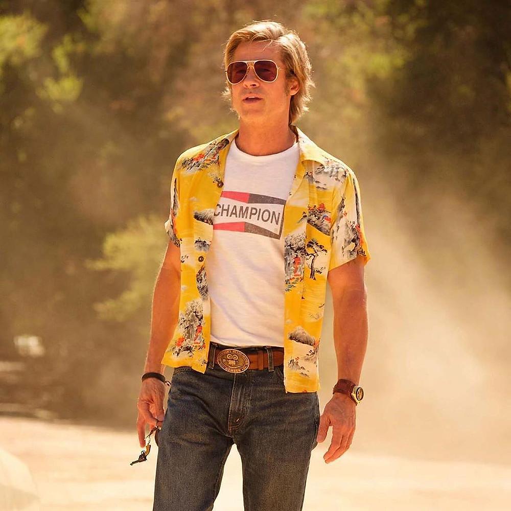Brad Pitt actor norteamericano con reloj Citizen