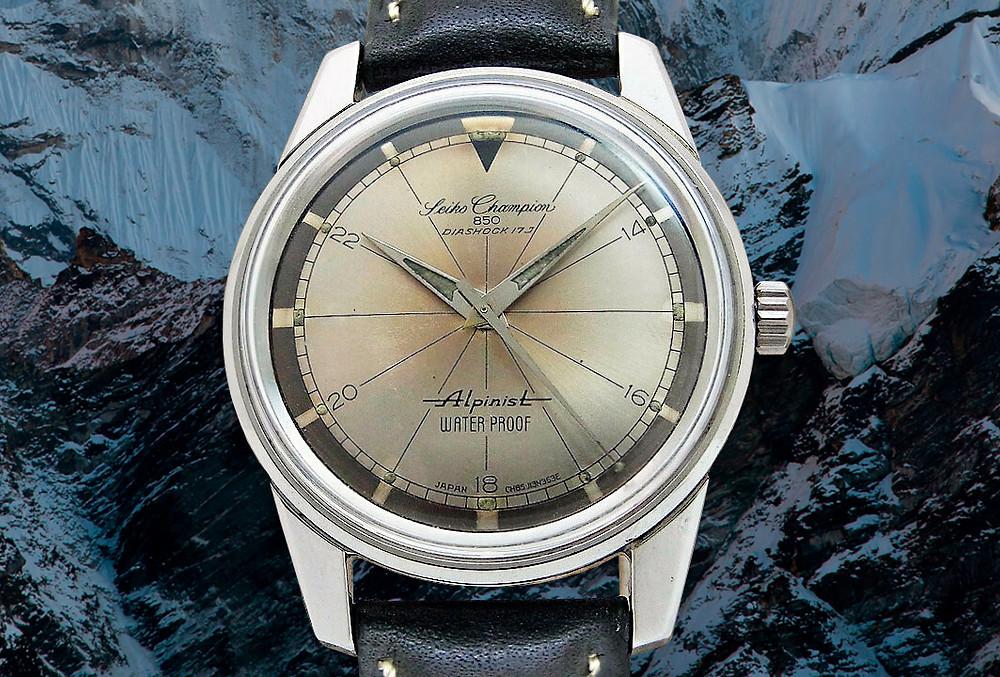 reloj vintage Seiko Champion Alpinist 1963