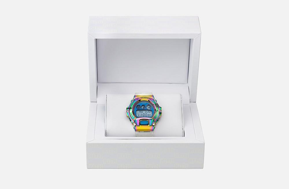 reloj edicion limitada ip multicolor g-shock x kith NY 2021