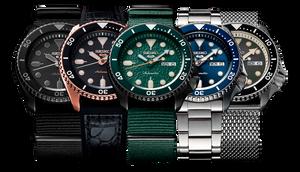 Serie de relojes Seiko 5 con 27 modelos distintos en España