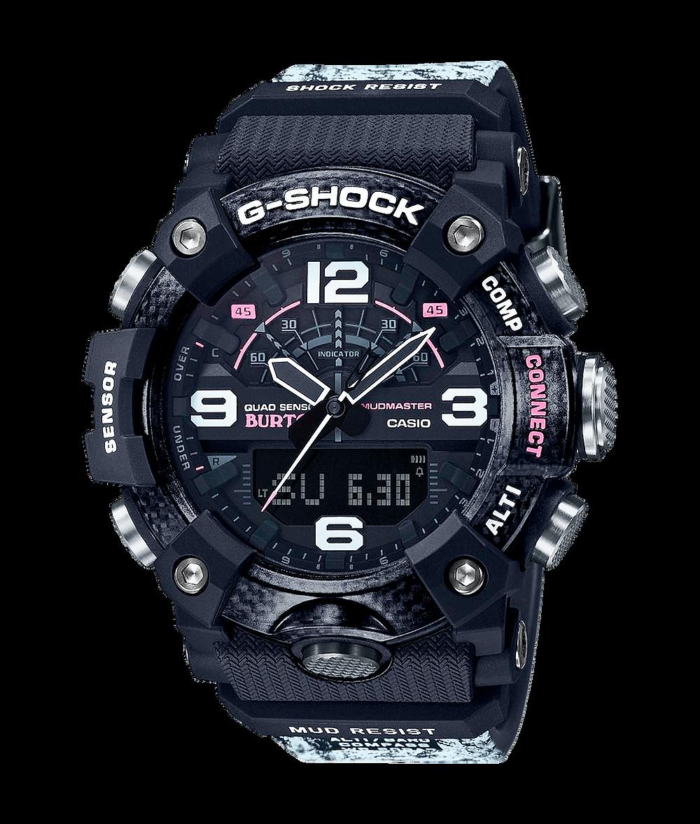 Edición limitada Burton reloj mudmaster GG-B100BTN-1AER