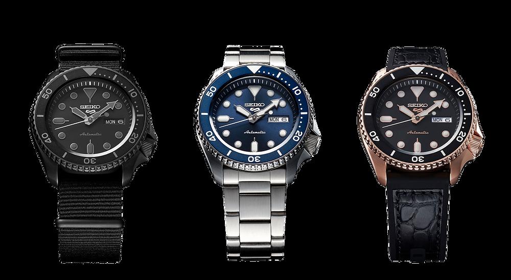 Seiko 5 sport colección relojes automáticos calibre 4R36
