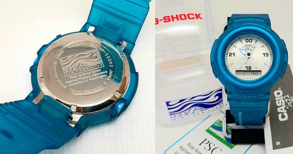Edicion limitada AW500ns vintage reloj g-shock ana-digi