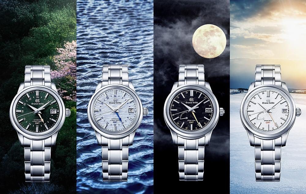 Nuevos relojes Grand Seiko 2021 coleccion elegance Hi-Beat y Spring Drive