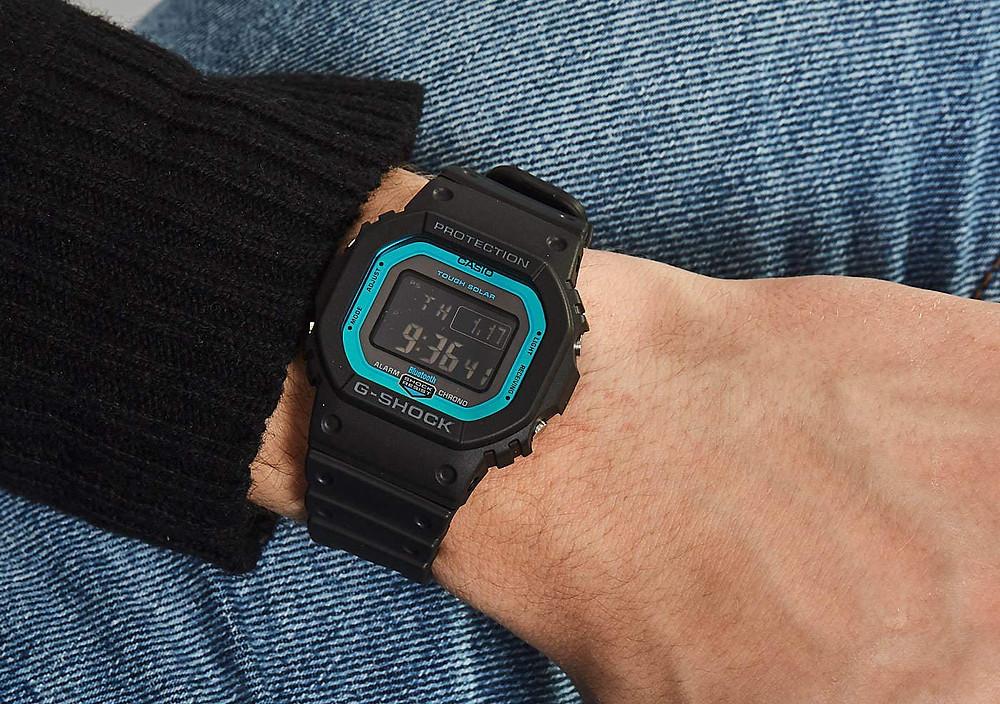 modelo reloj GW-B5600-2ER edicion never give up