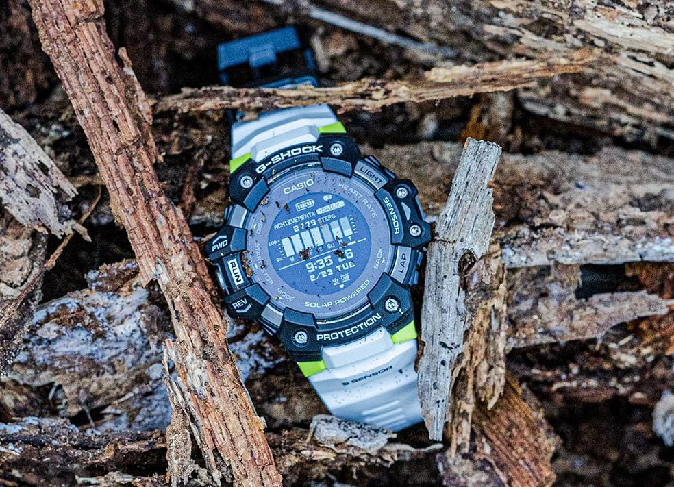 casio g-shock gbd-h1000 g-squad reloj japones para deporte