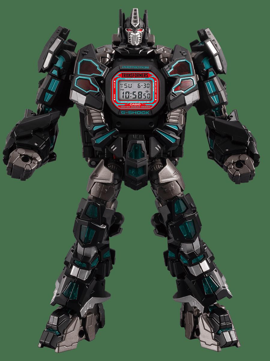 Reloj G-Shock x Transformers edición limitada ref. DW-5600TF19-SET