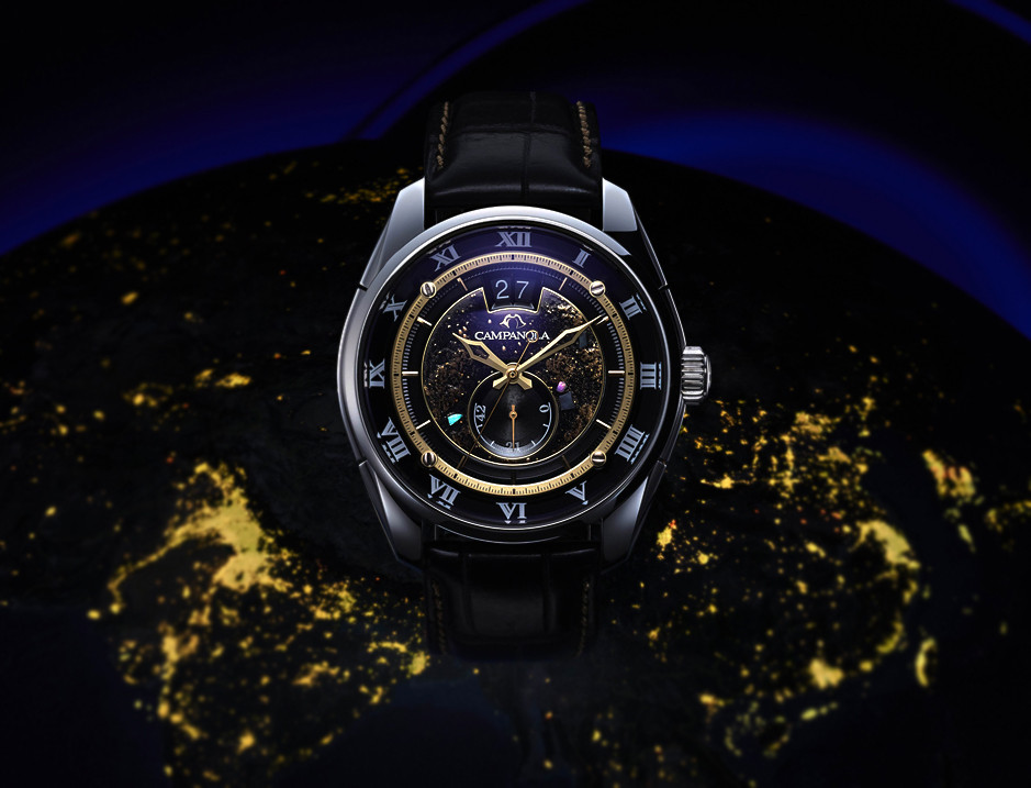 Reloj campanola NZ0000-15F calY513 Chiyo-no-Toboshi