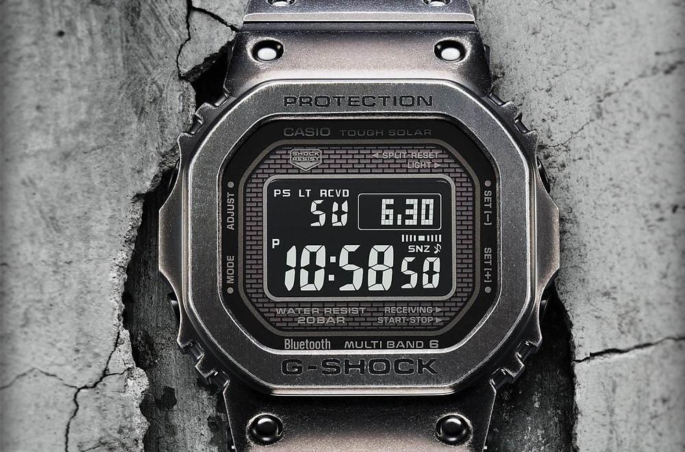 Casio G-Shock full metal edicion limitada GMW-B5000V