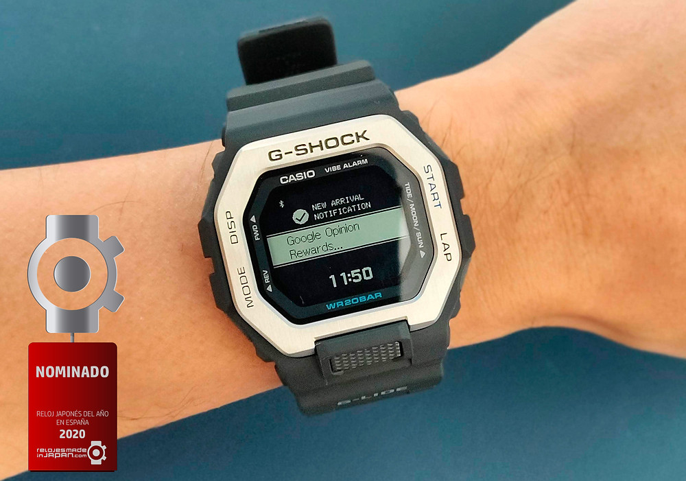 reloj de casio G-Shock con mejor pantalla LCD mip de 2020