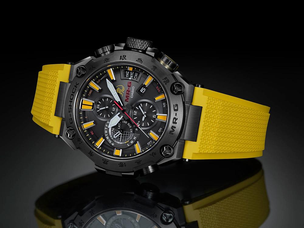 G-Shock MRG-G2000BL x Bruce Lee reloj titanio