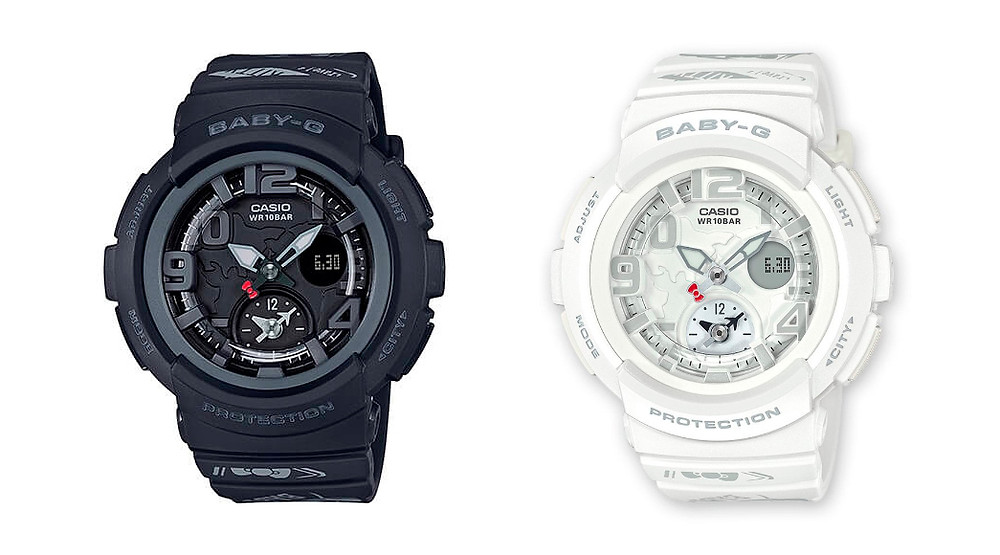 Reloj G-Shock Baby-G edicion limitada hello kitty BGA-190KT-1BER