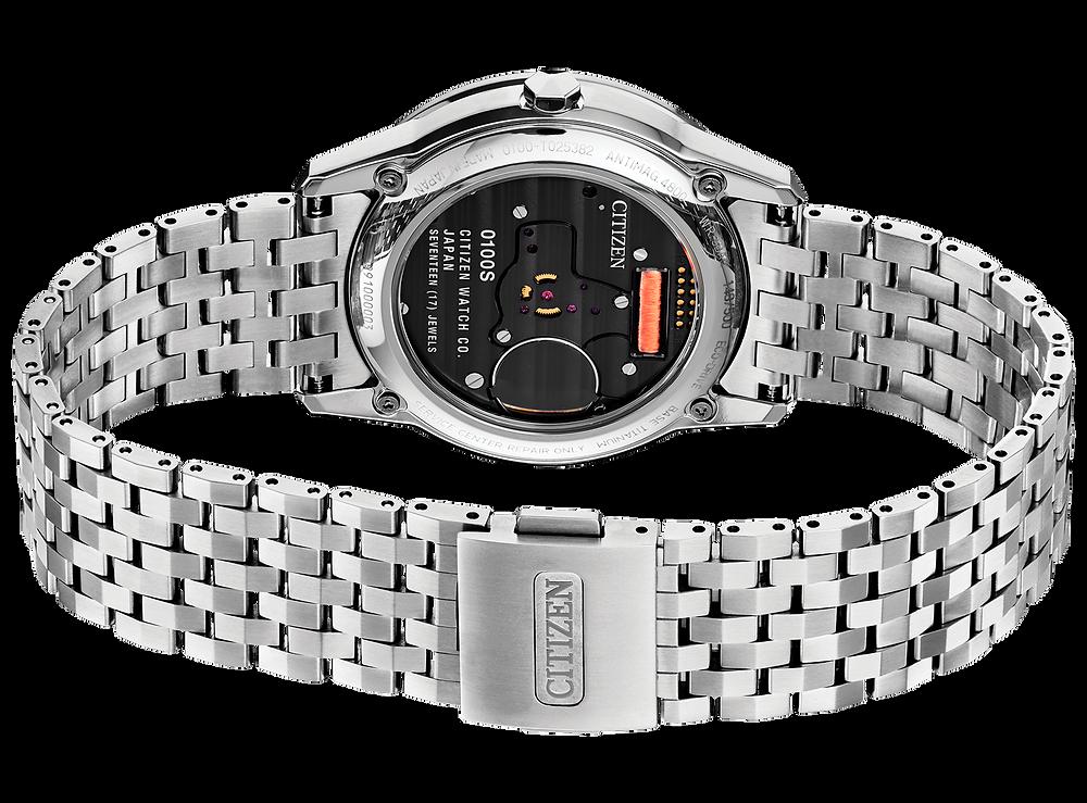 Reloj AQ6021-51E fondo cristal para ver calibre 0100